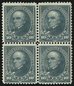 Sale Number 1096, Lot Number 438, 1894 Unwatermarked Bureau Issue (Scott 246-263)1c-10c 1894 Unwatermarked Bureau Issue (246-248, 250, 253, 255-258), 1c-10c 1894 Unwatermarked Bureau Issue (246-248, 250, 253, 255-258)