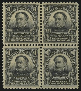 Sale Number 1096, Lot Number 544, 1902-08 Issues (Scott 300-313)$1.00 Black (311), $1.00 Black (311)