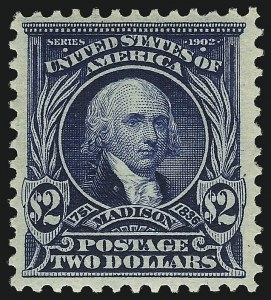 Sale Number 1096, Lot Number 545, 1902-08 Issues (Scott 300-313)$2.00 Dark Blue (312), $2.00 Dark Blue (312)