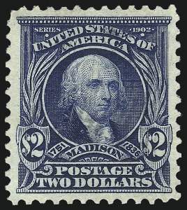 Sale Number 1096, Lot Number 547, 1902-08 Issues (Scott 300-313)$2.00 Dark Blue (312), $2.00 Dark Blue (312)