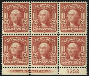 Sale Number 1096, Lot Number 561, 1906-08 Issue Imperforates and Coils (Scott 314A-322)2c Carmine, Ty. I (319), 2c Carmine, Ty. I (319)