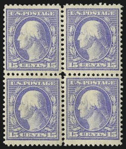 Sale Number 1096, Lot Number 568, 1908-10 Washington-Franklin Issues (Scott 331-356)1c-15c 1908-09 Issue (331-340, 343-347), 1c-15c 1908-09 Issue (331-340, 343-347)