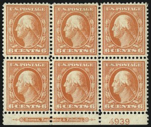 Sale Number 1096, Lot Number 569, 1908-10 Washington-Franklin Issues (Scott 331-356)1c-13c 1908-09 Issue (331-334, 336-337, 339), 1c-13c 1908-09 Issue (331-334, 336-337, 339)