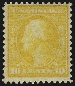 Sale Number 1096, Lot Number 610, 1909 Bluish Paper Issue, 1909 Commemoratives (Scott 357-369)10c Yellow, Bluish (364), 10c Yellow, Bluish (364)