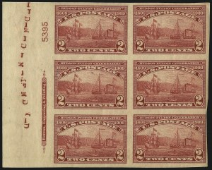 Sale Number 1096, Lot Number 618, 1909 Bluish Paper Issue, 1909 Commemoratives (Scott 357-369)2c 1909 Commemoratives (367-368, 370-373), 2c 1909 Commemoratives (367-368, 370-373)