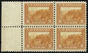 Sale Number 1096, Lot Number 655, 1913-15 Panama-Pacific Issue (Scott 397-404)10c Panama-Pacific, Perf 10 (404), 10c Panama-Pacific, Perf 10 (404)