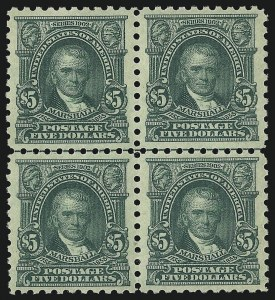 Sale Number 1096, Lot Number 733, 1916-17 Issues (Scott 462-491)$5.00 Light Green (480), $5.00 Light Green (480)