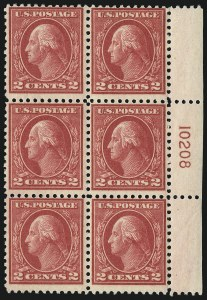 Sale Number 1096, Lot Number 747, 1917-19 Issues (Scott 498-524)2c Deep Rose, Ty. Ia (500), 2c Deep Rose, Ty. Ia (500)