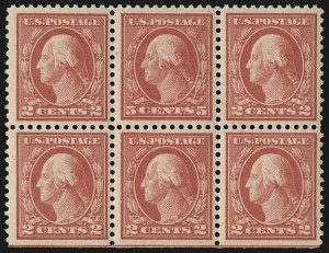 Sale Number 1096, Lot Number 748, 1917-19 Issues (Scott 498-524)5c Rose, Error (505), 5c Rose, Error (505)