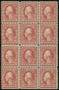 Sale Number 1096, Lot Number 749, 1917-19 Issues (Scott 498-524)5c Rose, Error (505), 5c Rose, Error (505)