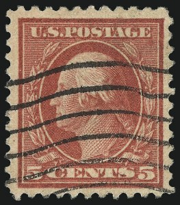 Sale Number 1096, Lot Number 750, 1917-19 Issues (Scott 498-524)5c Rose, Error (505), 5c Rose, Error (505)