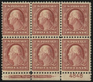Sale Number 1096, Lot Number 755, 1917-19 Issues (Scott 498-524)2c Carmine (519), 2c Carmine (519)