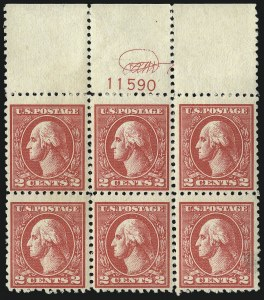 Sale Number 1096, Lot Number 763, 1918-22 Offset Printing, Rotary Issues (Scott 525-547)2c Carmine, Ty. VI (528A), 2c Carmine, Ty. VI (528A)
