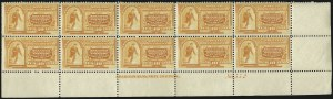 Sale Number 1096, Lot Number 830, Special Delivery (Scott E1-E10)10c Orange, Special Delivery (E3), 10c Orange, Special Delivery (E3)