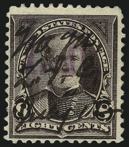 "Sale Number 1096, Lot Number 993, 1898 Spanish-American War, Documentary, Proprietary Revenue Issues8c Violet Brown, ""I.R."" Overprint (R156), 8c Violet Brown, ""I.R."" Overprint (R156)"