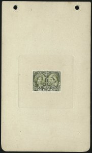 Sale Number 1098, Lot Number 275, Canada, Jubilee IssueCANADA, 1897, 2c-$5.00 Jubilee, Plate Proofs (50P/65P), CANADA, 1897, 2c-$5.00 Jubilee, Plate Proofs (50P/65P)