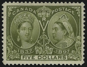 Sale Number 1098, Lot Number 276, Canada, Jubilee IssueCANADA, 1897, -1/2c-$5.00 Jubilee (50-65), CANADA, 1897, -1/2c-$5.00 Jubilee (50-65)