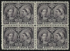 Sale Number 1098, Lot Number 278, Canada, Jubilee IssueCANADA, 1898, 8c Jubilee (56), CANADA, 1898, 8c Jubilee (56)