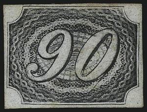 Sale Number 1098, Lot Number 595, Brazil, Specialized CollectionBRAZIL, 1844, 10r Black, Type IIa (10 var; RHM 7D), BRAZIL, 1844, 10r Black, Type IIa (10 var; RHM 7D)