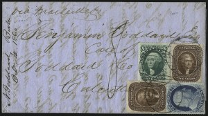 Sale Number 1100, Lot Number 208, Postal History: Stamped Covers5c Brown, Ty. II (30A), 5c Brown, Ty. II (30A)