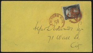 Sale Number 1100, Lot Number 221, Postal History: Stamped Covers2c Black, Z. Grill (85B), 2c Black, Z. Grill (85B)