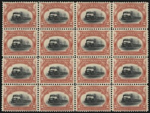 Sale Number 1100, Lot Number 70, 1901 Pan-American Issue (Scott 294-299)2c Pan-American (295), 2c Pan-American (295)
