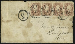 Sale Number 1104, Lot Number 2362, General Issues on Cover: Scott 6-102c Brown Red (8), 2c Brown Red (8)