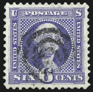Sale Number 1106, Lot Number 3117, 1869 Pictorial Issue and Re-Issue6c Blue, Re-Issue (126), 6c Blue, Re-Issue (126)