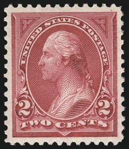 Sale Number 1106, Lot Number 3135, 1894-98 Issue thru Pan-American Issue2c Carmine Lake, Ty. I (249), 2c Carmine Lake, Ty. I (249)