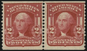 Sale Number 1106, Lot Number 3151, 1902-08 Issue and Later Issues2c Carmine, Coil (322), 2c Carmine, Coil (322)