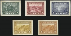 Sale Number 1106, Lot Number 3155, 1902-08 Issue and Later Issues1c-10c Panama-Pacific, Panama-Pacific Small Die Proofs on Wove (397P2a-400AP2a), 1c-10c Panama-Pacific, Panama-Pacific Small Die Proofs on Wove (397P2a-400AP2a)