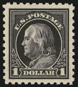 Sale Number 1106, Lot Number 3157, 1902-08 Issue and Later Issues$1.00 Violet Black (460), $1.00 Violet Black (460)