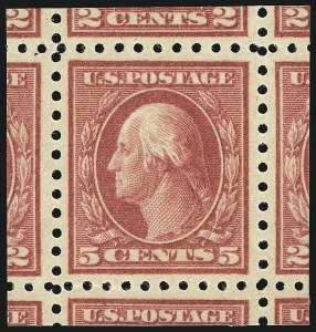 Sale Number 1106, Lot Number 3158, 1902-08 Issue and Later Issues5c Carmine, Error (467), 5c Carmine, Error (467)