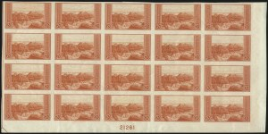 Sale Number 1106, Lot Number 3163, 1902-08 Issue and Later Issues2c Grand Canyon, Imperforate (741 var), 2c Grand Canyon, Imperforate (741 var)