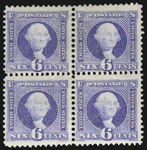 Sale Number 1107, Lot Number 234, 1869 Pictorial Issue and R-Issue (Scott 112-131)6c Ultramarine (115), 6c Ultramarine (115)