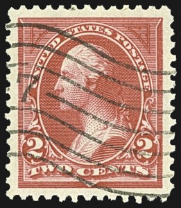Sale Number 1107, Lot Number 354, 1894-98 Bureau Issues (Scott 246-283)2c Carmine, Ty. I (265), 2c Carmine, Ty. I (265)