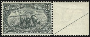 Sale Number 1107, Lot Number 387, 1898 Trans-Mississippi Issue (Scott 285-293)50c Trans-Mississippi (291), 50c Trans-Mississippi (291)