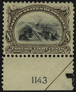 Sale Number 1107, Lot Number 406, 1901 Pan-American Issue (Scott 294-299)8c, 10c Pan-American (298-299), 8c, 10c Pan-American (298-299)