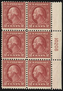 Sale Number 1107, Lot Number 497, 1917-23 Issues (Scott 498-546)2c Deep Rose, Ty. Ia (500), 2c Deep Rose, Ty. Ia (500)