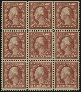 Sale Number 1107, Lot Number 498, 1917-23 Issues (Scott 498-546)5c Rose, Error (505), 5c Rose, Error (505)