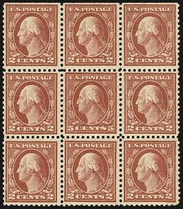 Sale Number 1107, Lot Number 499, 1917-23 Issues (Scott 498-546)5c Rose, Error (505), 5c Rose, Error (505)