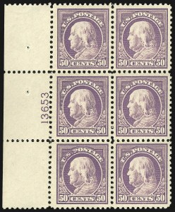 Sale Number 1107, Lot Number 502, 1917-23 Issues (Scott 498-546)50c Red Violet (517), 50c Red Violet (517)