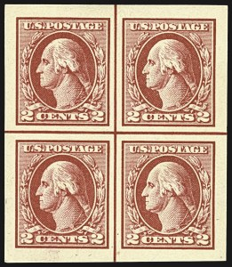 Sale Number 1107, Lot Number 508, 1917-23 Issues (Scott 498-546)2c Carmine Rose, Ty. IV, V, VI, Imperforate (532, 533, 534A), 2c Carmine Rose, Ty. IV, V, VI, Imperforate (532, 533, 534A)