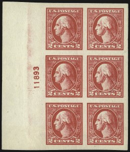 Sale Number 1107, Lot Number 509, 1917-23 Issues (Scott 498-546)2c Carmine, Ty. V, Imperforate (533), 2c Carmine, Ty. V, Imperforate (533)