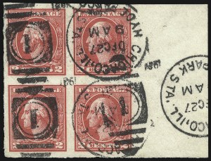 Sale Number 1107, Lot Number 510, 1917-23 Issues (Scott 498-546)2c Carmine, Ty. VII, Imperforate (534B), 2c Carmine, Ty. VII, Imperforate (534B)