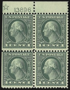 Sale Number 1107, Lot Number 515, 1917-23 Issues (Scott 498-546)1c Green, Rotary (545), 1c Green, Rotary (545)