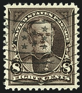 Sale Number 1108, Lot Number 128, 1894-98 Bureau Issues (Scott 249-283a)8c Violet Brown (272), 8c Violet Brown (272)