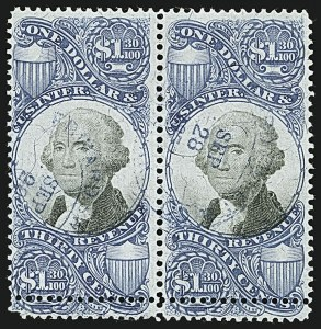 Sale Number 1110, Lot Number 1269, Second Issue Revenues$1.30 Blue & Black, Second Issue (R119), $1.30 Blue & Black, Second Issue (R119)