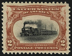 Sale Number 1111, Lot Number 221, 1901 Pan-American Issue (Scott 294-299)2c Pan-American (295), 2c Pan-American (295)