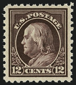Sale Number 1111, Lot Number 427, 1913-15 Washington-Franklin Issues (Scott 424-440)1c-12c 1913-15 Issues (424-429, 431, 434-435), 1c-12c 1913-15 Issues (424-429, 431, 434-435)